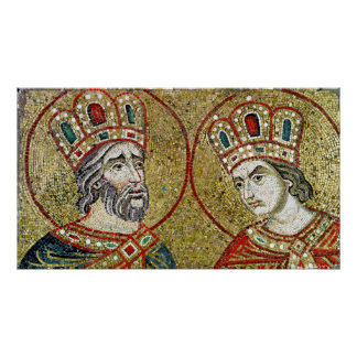 Constantine the Great  and St. Helena Poster