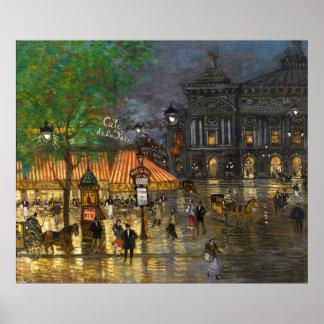 Constantino Korovin: Gran ópera, París Posters