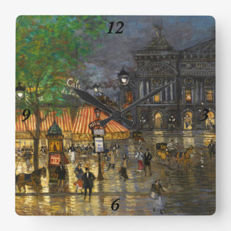 Constantino Korovin Gran ópera París Reloj