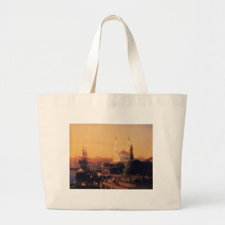 Constantinopla de Ivan Aivazovsky Bolsa Tela Grande