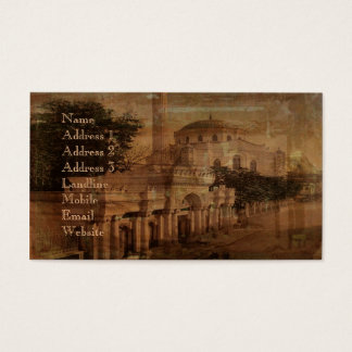 Constantinople Business Card