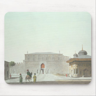 Constantinople: Haghia Sophia Square showing the f Mouse Pad