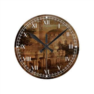 Constantinople Round Wallclock