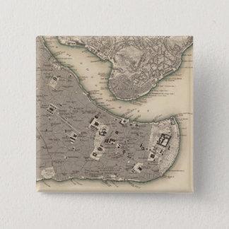 Constantinople Stambool Pinback Button
