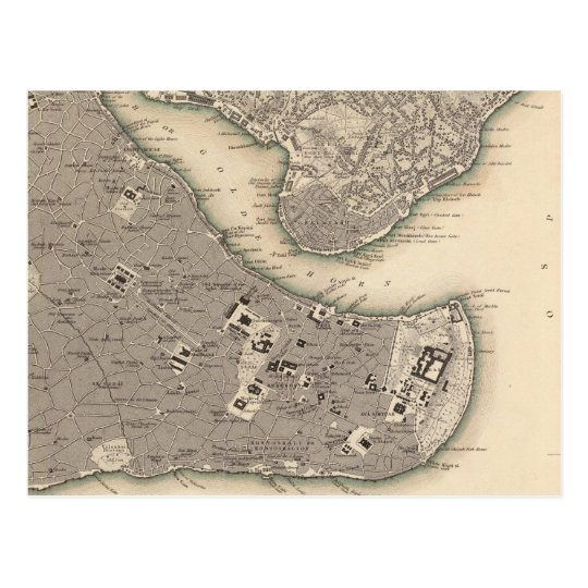 Constantinople Stambool Postcard