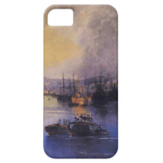 Constantinople Sunset by Ivan Aivazovsky iPhone SE/5/5s Case