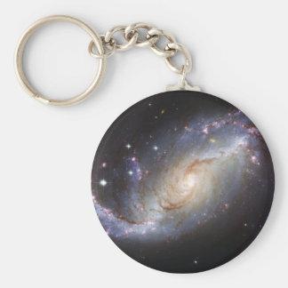 Constelación barrada Dorado de la galaxia espiral  Llaveros