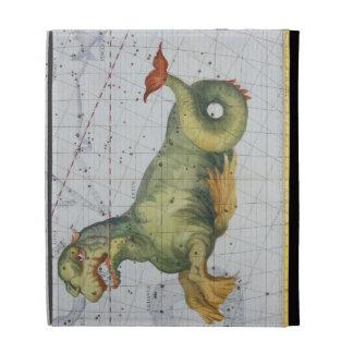 Constelación de Cetus la ballena, del 'atlas Coel