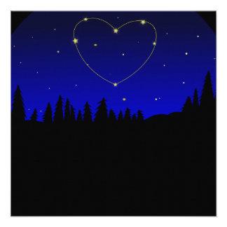 Constelación de la estrella del corazón comunicados personales