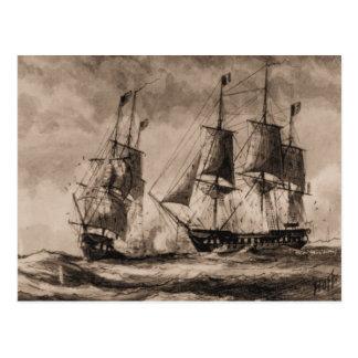 Constelación de la nave de los E.E.U.U. en la Postal
