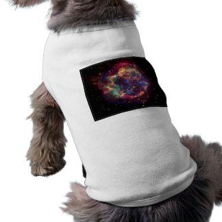 Constelación del Cassiopeia Camiseta De Perro