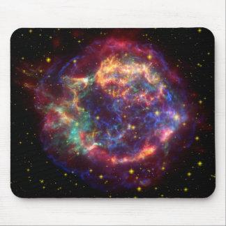 Constelación del Cassiopeia Alfombrillas De Raton