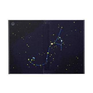 Constelación del escorpión iPad mini cárcasas