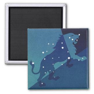 Constelación del león de Leo de la astrología del Imán Para Frigorífico