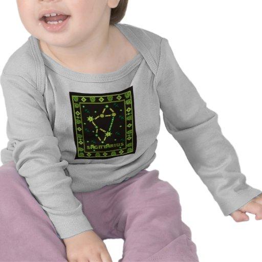 Constelación del sagitario camisetas
