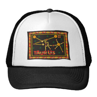 Constelación del tauro gorras