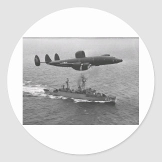 Constelación estupenda de Lockheed WV-2 Pegatina Redonda