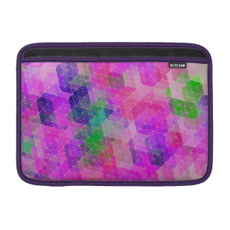 Constelación geométrica coloreada multi funda  MacBook