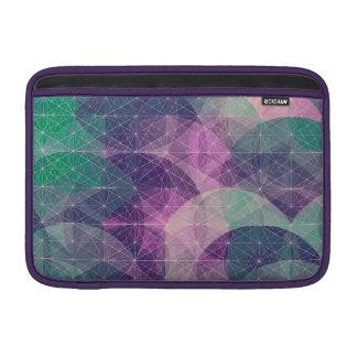 Constelación geométrica colorida fundas MacBook