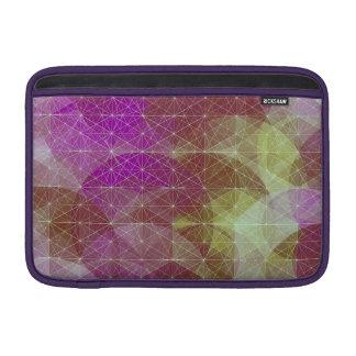 Constelación geométrica colorida fundas para macbook air