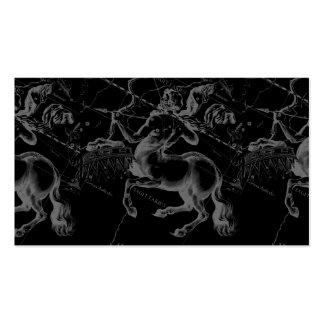 Constelación Hevelius1690 Nov22- del sagitario 21 Tarjetas De Visita