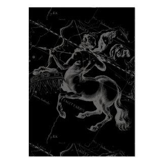 Constelación Hevelius1690 Nov22- del sagitario 21 Tarjetas De Visita Grandes