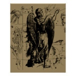 Constelación Hevelius del virgo 1690 Aug23 - Posters
