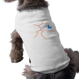 Constelación tiradora constellation Sagittarius Playera Sin Mangas Para Perro