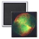 Constelación Vulpecula, el Fox de la nebulosa de l Imán Cuadrado