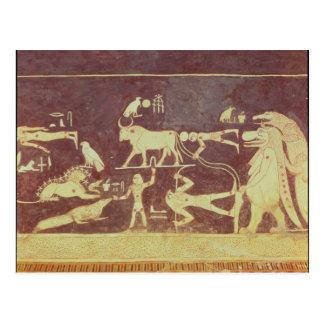 Constelaciones de la cámara funeraria postal