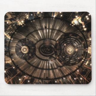 Constelaciones mecánicas del zodiaco de Steampunk Alfombrillas De Ratón