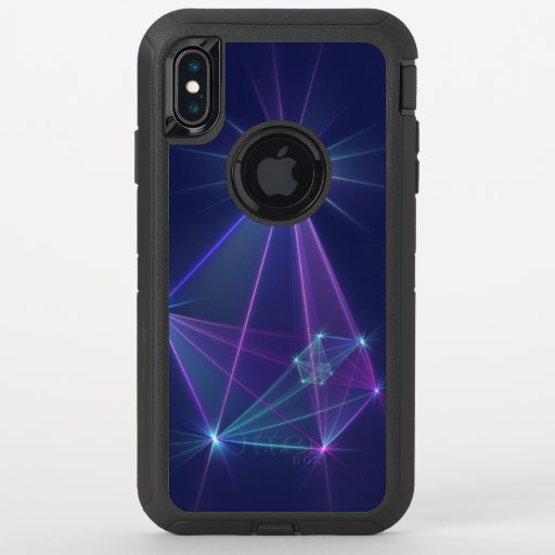 Constellation, Abstract Fantasy Fractal Art OtterBox Defender iPhone XS Max Case