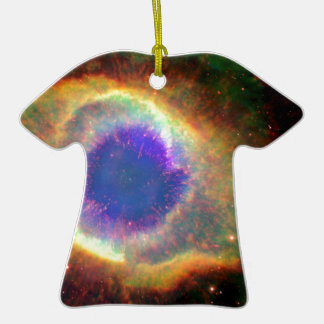 Constellation Aquarius a Dying Star White Dwarf Double-Sided T-Shirt Ceramic Christmas Ornament