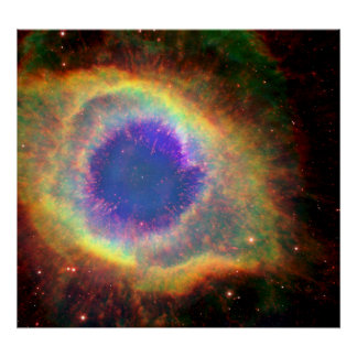 Constellation Aquarius a Dying Star White Dwarf Print