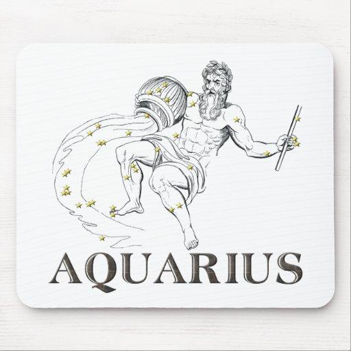 Constellation: Aquarius Mouse Pad