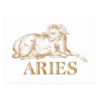 Constellation: Aries Postcard