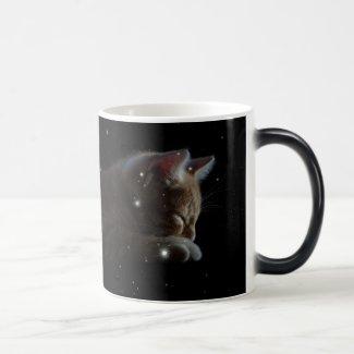 Constellation Cat 11 Oz Magic Heat Color-Changing Coffee Mug