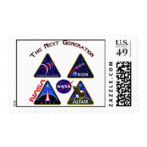 Constellation Composite Logo Postage Stamps