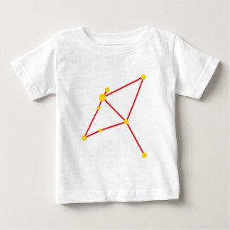 Constellation constellation eagle Eagle aquila Baby T-Shirt