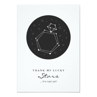 Constellation Engagement Party Invitation