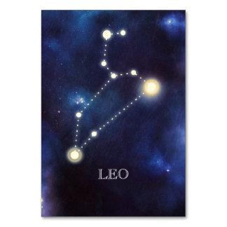 Constellation | Leo | Wedding Table Number