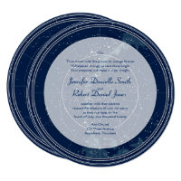 Constellation Night Sky Wedding Invitation