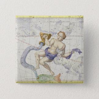 Constellation of Aquarius, plate 9 from 'Atlas Coe Button