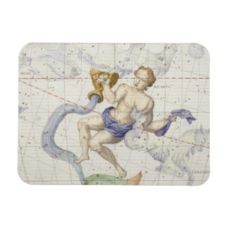 Constellation of Aquarius, plate 9 from 'Atlas Coe Magnet