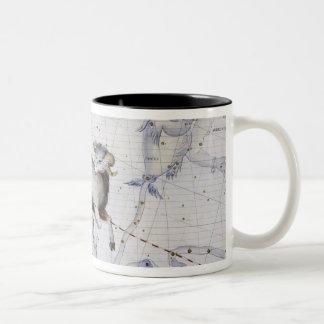 Constellation of Aries, plate 4 from 'Atlas Coeles Two-Tone Coffee Mug