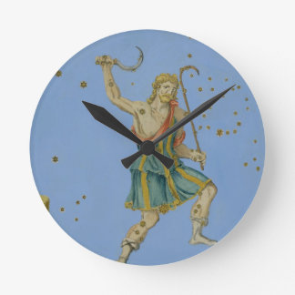 Constellation of Bootes, from 'Uranometria' by Joh Round Wallclock