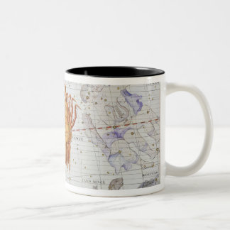 Constellation of Cancer, plate 4 from 'Atlas Coele Two-Tone Coffee Mug
