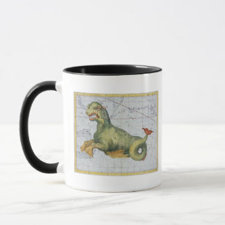 Constellation of Cetus the Whale, from 'Atlas Coel Mug