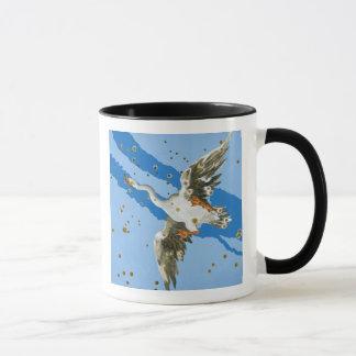 Constellation of Cygnus, from 'Uranometria' writte Mug