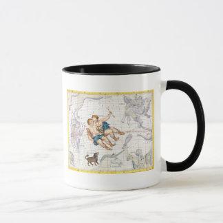 Constellation of Gemini with Canis Minor, plate 13 Mug
